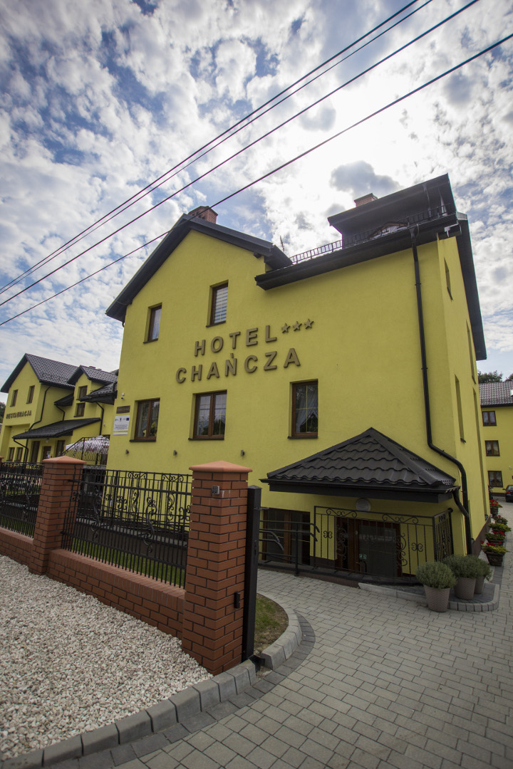 Hotel Chancza Wejście